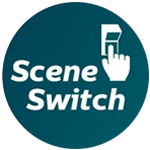 Multipack 10x Philips SceneSwitch LEDcandle E14 B38 5.5W 827 Clear   SceneSwitch Dimmable - Replaces 40W