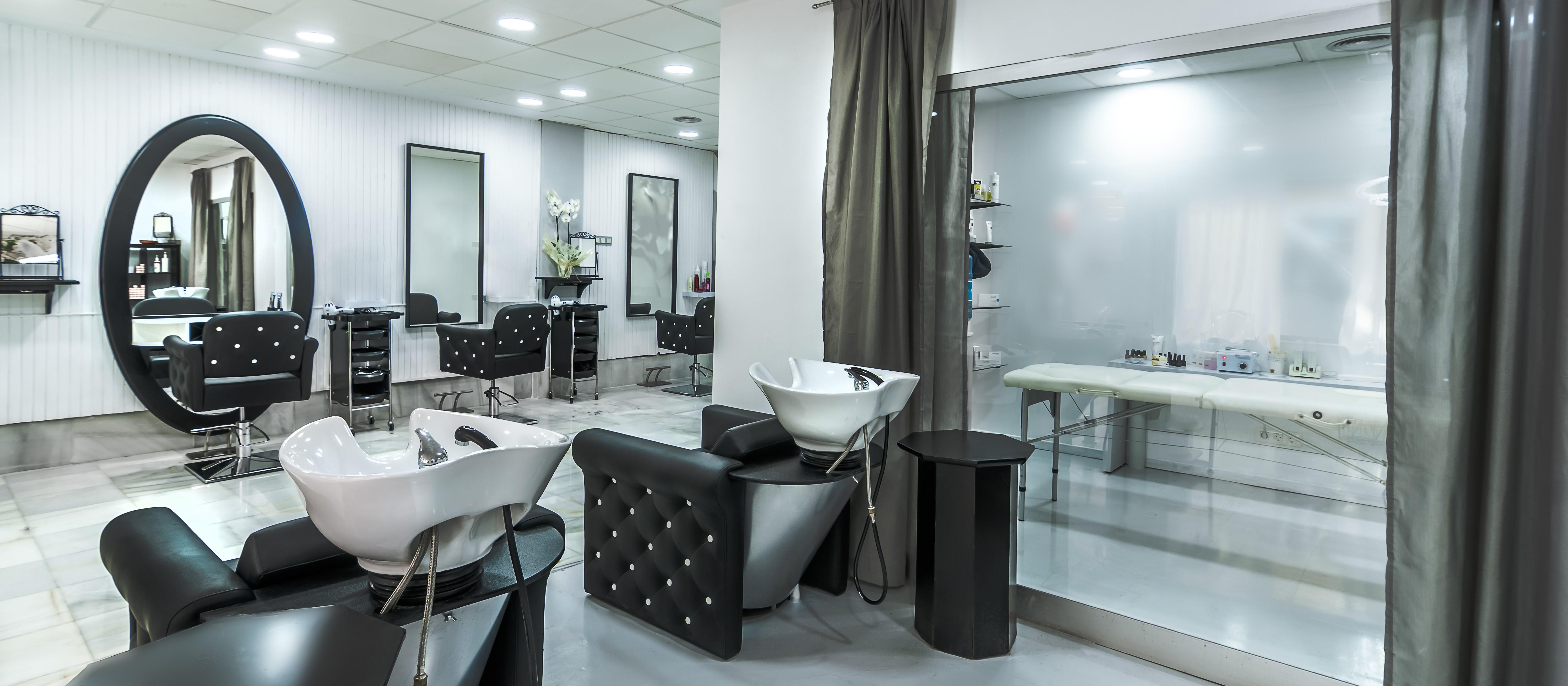 lighting hairdresser beauty salon