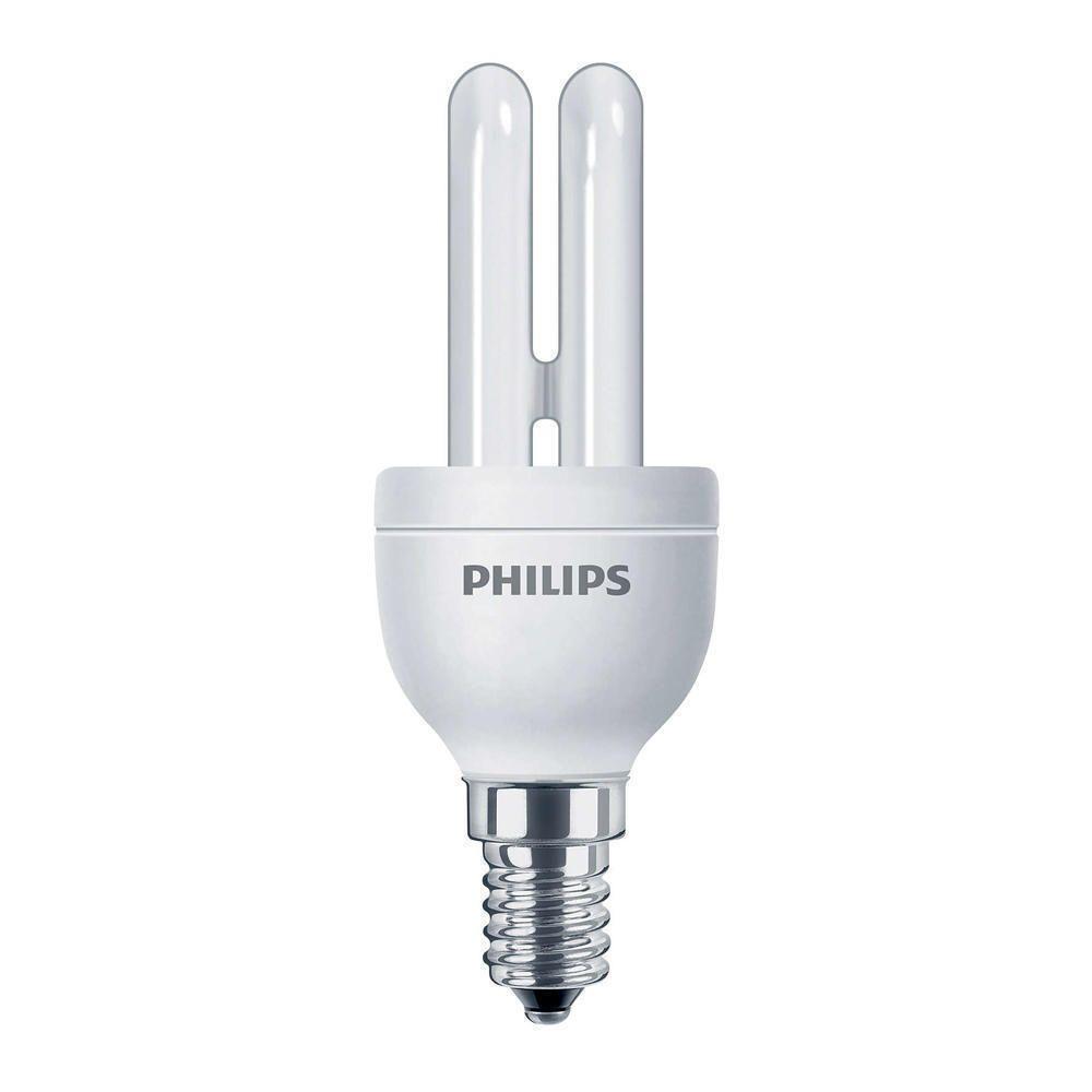 Philips Genie ESaver 5W 827 E14   Extra Warm White