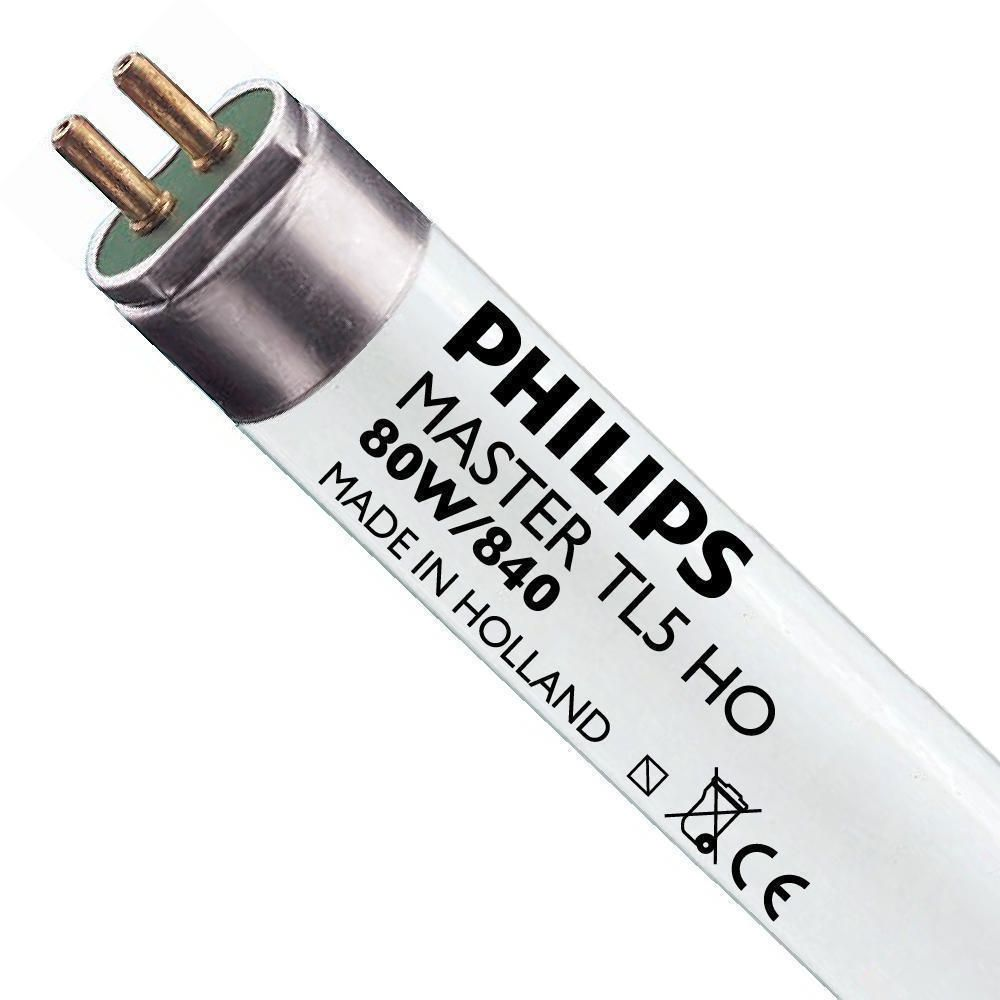 Philips TL5 HO 80W 840 (MASTER)   145cm - Cool White