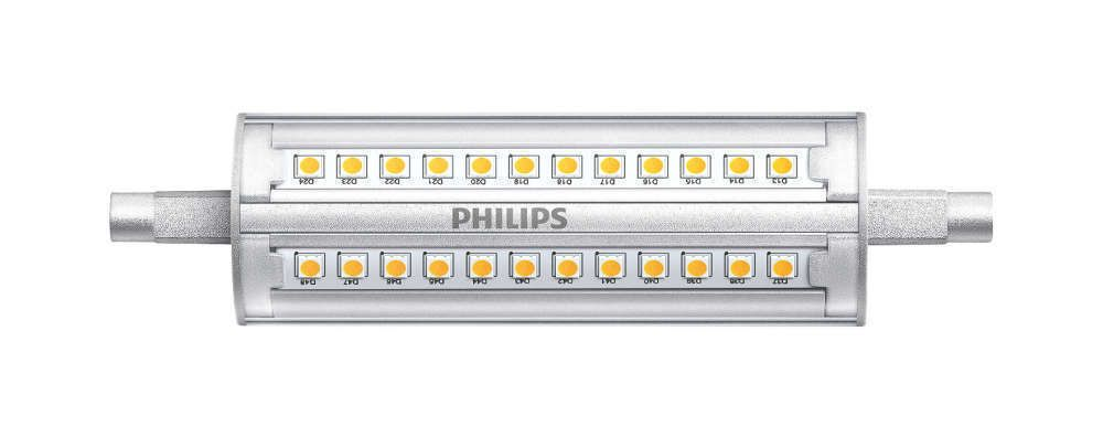 Philips CorePro R7s 14W 830 118mm   Dimmable - Replaces 100W