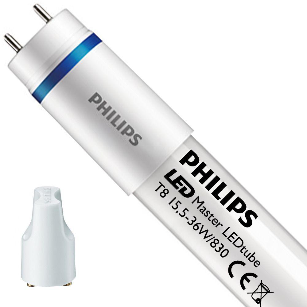 Philips LEDtube EM UO 15.5W 830 120cm (MASTER) | Warm White - incl. LED Starter - Replaces 36W