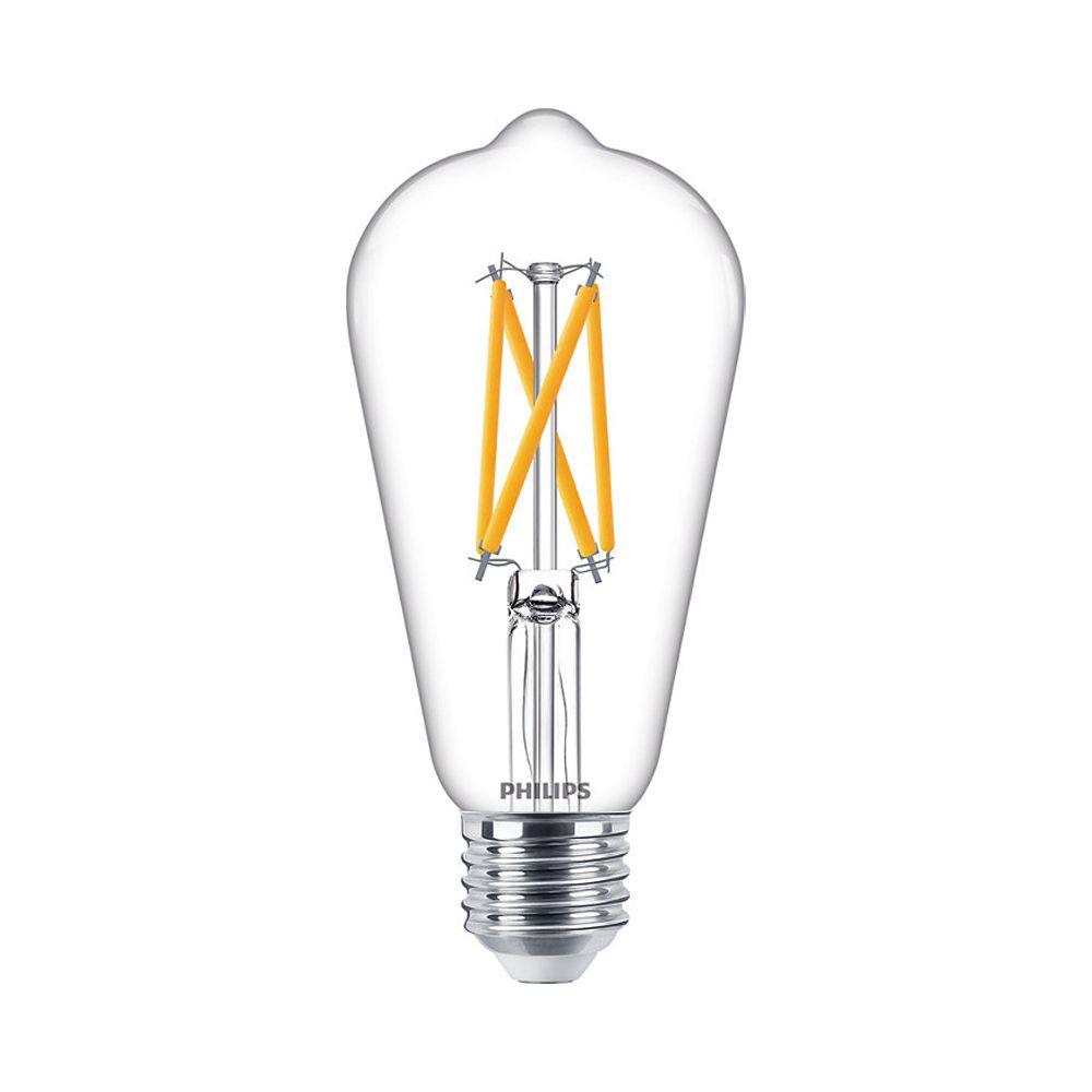 Philips Classic LEDbulb E27 ST64 7W 927 806lm Filament | DimTone - Extra Warm White - Replaces 60W