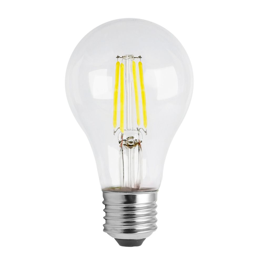 Noxion Lucent Classic LED Filament A60 E27 8W 822-827 Clear | Dimmable - Extra Warm White - Replaces 60W