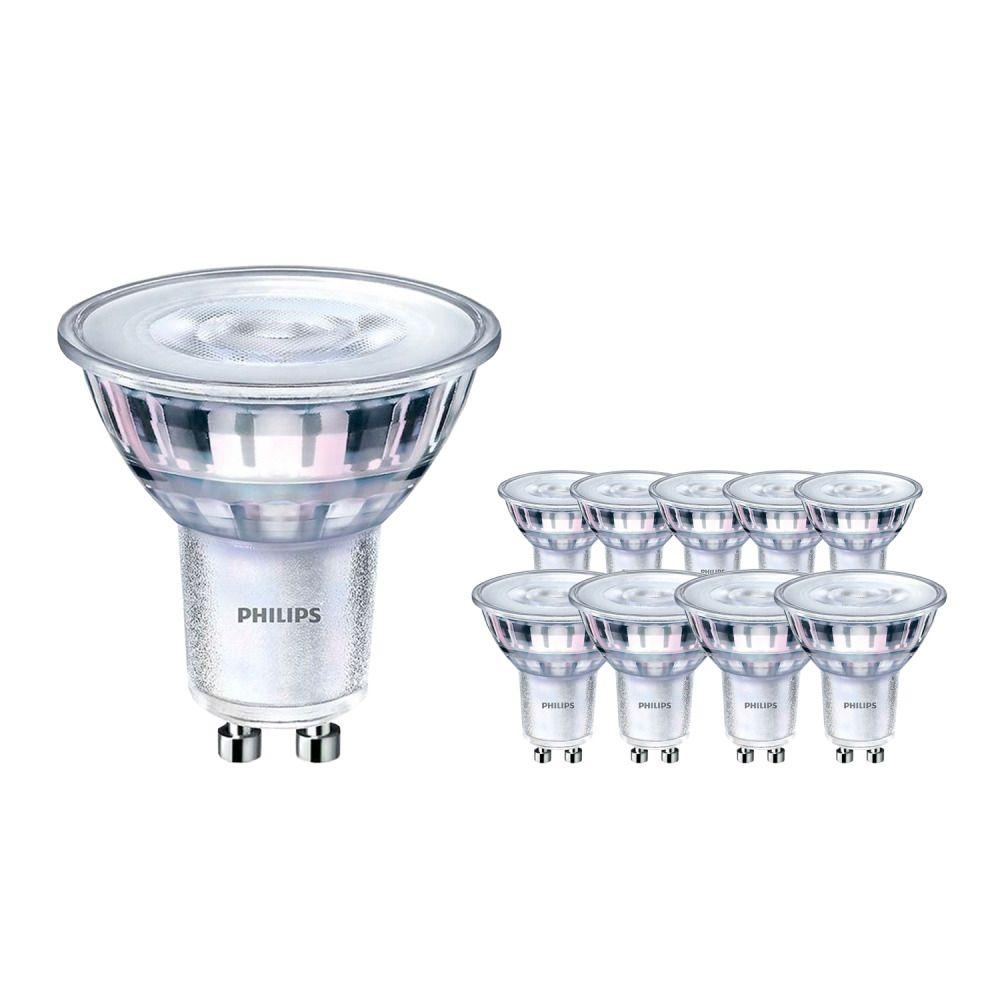 Multipack 10x Philips Corepro LEDspot CLA 4.6-50W GU10 830 36D