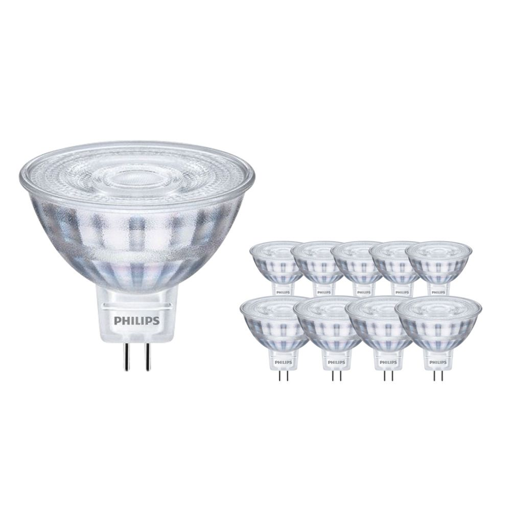 Multipack 10x Philips CorePro LED spot ND 5-35W MR16 827 36D