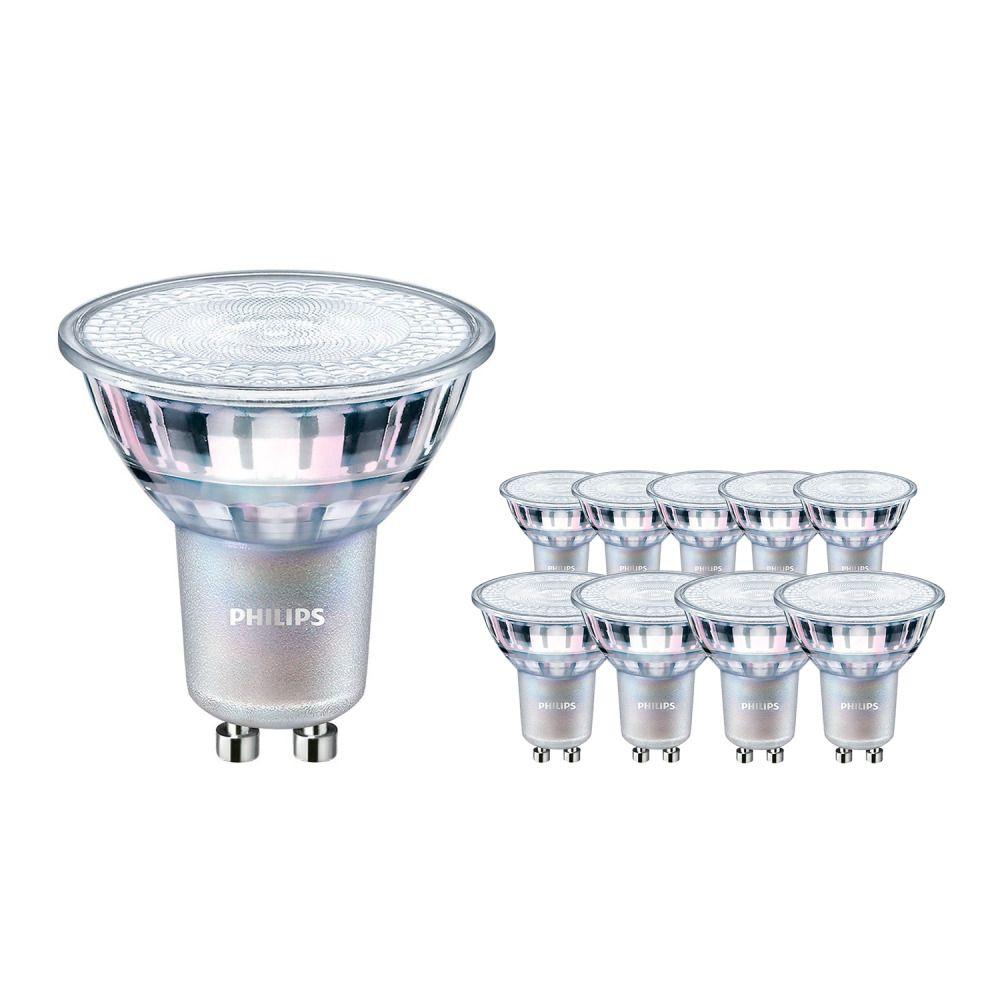 Multipack 10x Philips Corepro LEDspot CLA 4.6-50W GU10 840 36D