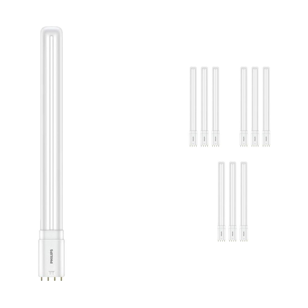 Multipack 10x Philips CorePro PL-L HF LED 16.5W 830   Warm White - 4-Pin - Replaces 36W