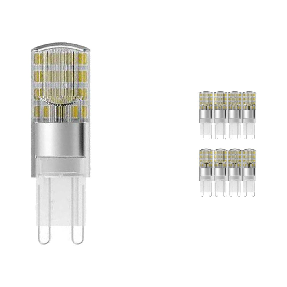 Multipack 10x Osram Parathom Pin G9 1.9W 827 Clear   Replaces 20W