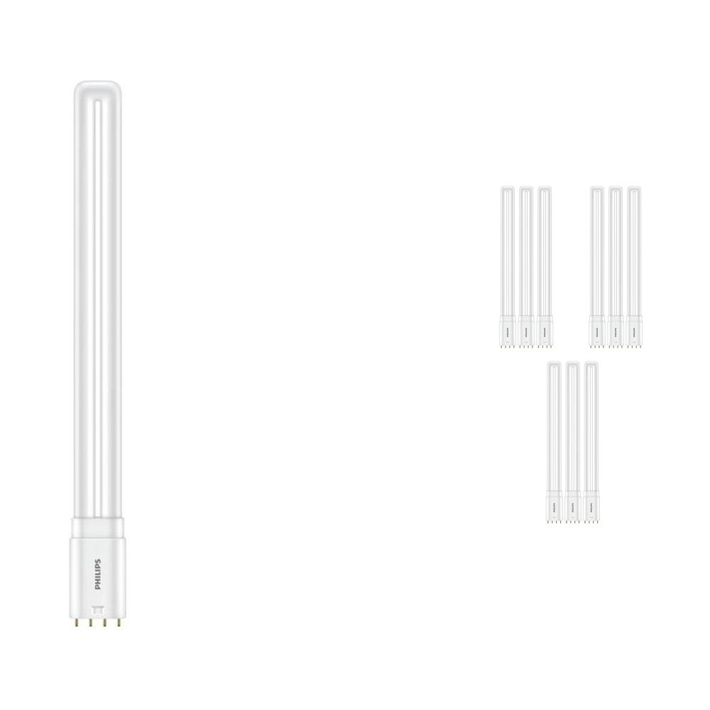 Multipack 10x Philips CorePro PL-L HF LED 16.5W 865   Daylight - 4-Pin - Replaces 36W
