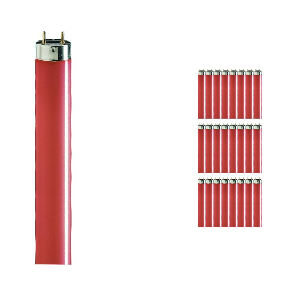 Multipack 25x Philips TL-D 36W Red - 120cm (MASTER)