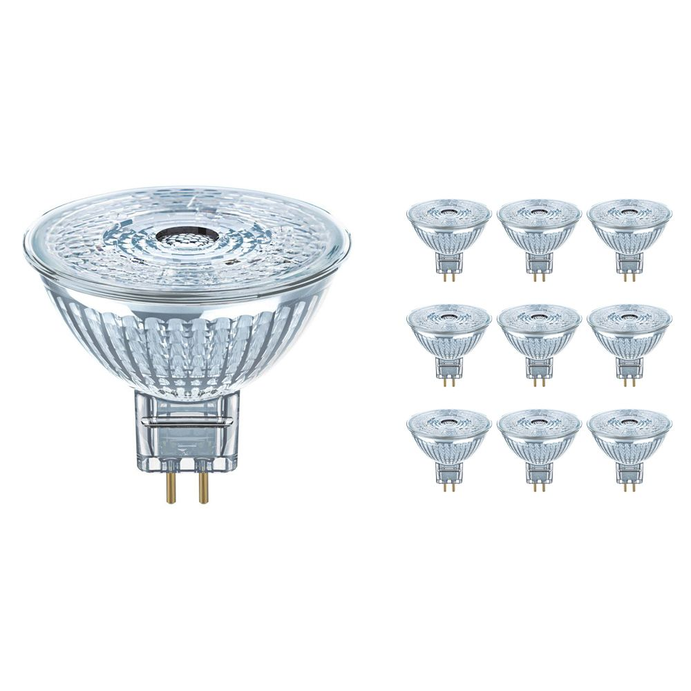 Multipack 10x Osram Parathom Pro GU5.3 MR16 4W 930 230lm | Dimmable - Warm White - Replaces 20W