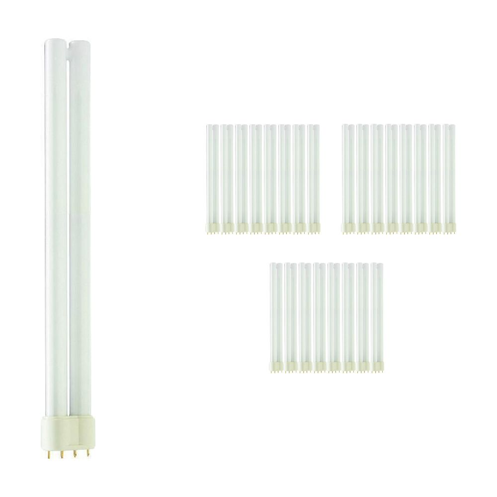 Multipack 25x Philips PL-L 24W 827 4P (MASTER)   Extra Warm White - 4-Pin