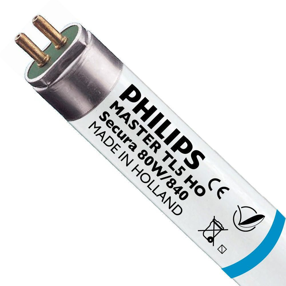 Philips TL5 HO Secura 80W 840 (MASTER) | 145cm - Cool White
