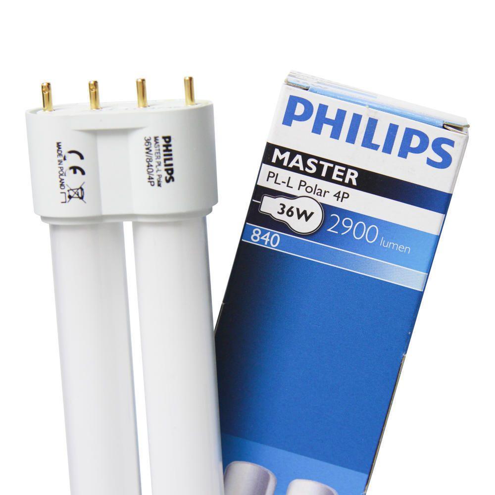 Philips PL-L Polar 36W 840 4P (MASTER) | Cool White - 4-Pin