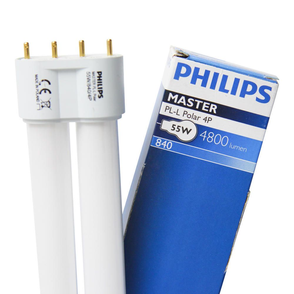 Philips PL-L Polar 55W 840 4P (MASTER) | Cool White - 4-Pin