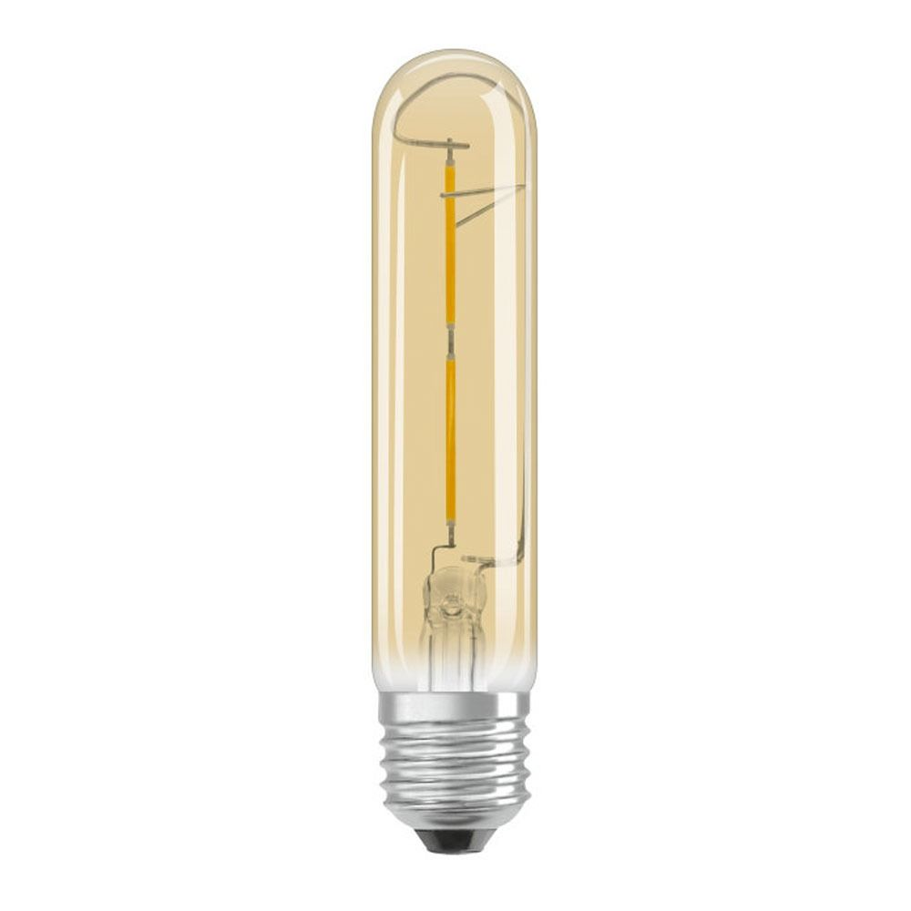 Osram Vintage 1906 LED E27 Tubular 2.5W 820 Gold | Extra Warm White - Replaces 20W