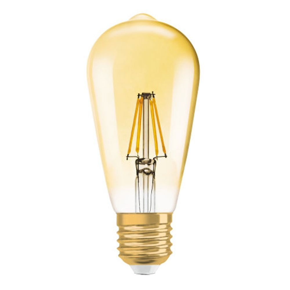 Osram Vintage 1906 LED E27 Edison 2.5W 824 Gold   Replaces 22W