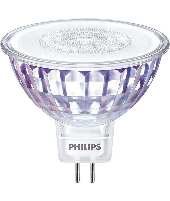 Philips LEDspot VLE GU5.3 MR16 7W 830 60D (MASTER) | Warm White - Dimmable - Replaces 50W