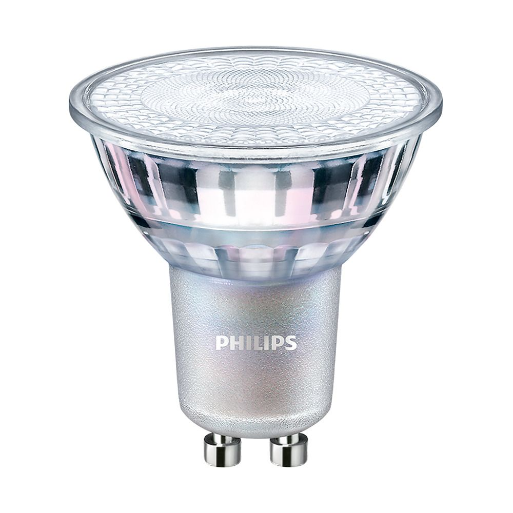 Philips LEDspot MV Value GU10 3.7W 927 36D (MASTER) | Best Colour Rendering - DimTone Dimmable - Replaces 35W
