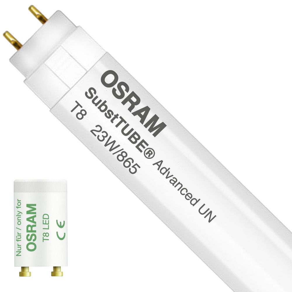 Osram SubstiTUBE Advanced UO UN 23W 865 150cm | Daylight - Incl. LED Starter - Replaces 58W