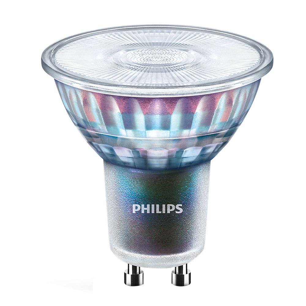 Philips LEDspot ExpertColor GU10 3.9W 927 36D (MASTER) | Best Colour Rendering - Very Warm White - Dimmable - Replaces 35W