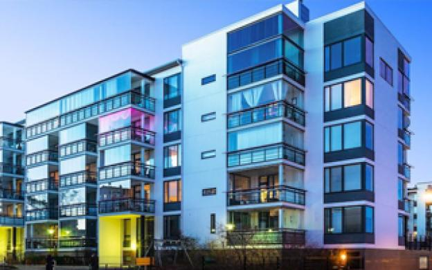 What is the best light for an apartment complex?