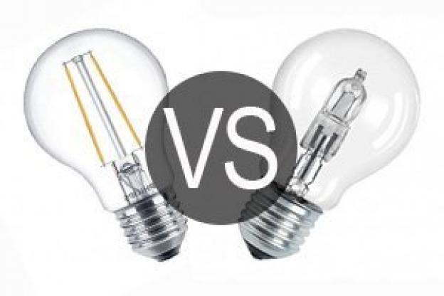 Halogen or LED light bulbs ?