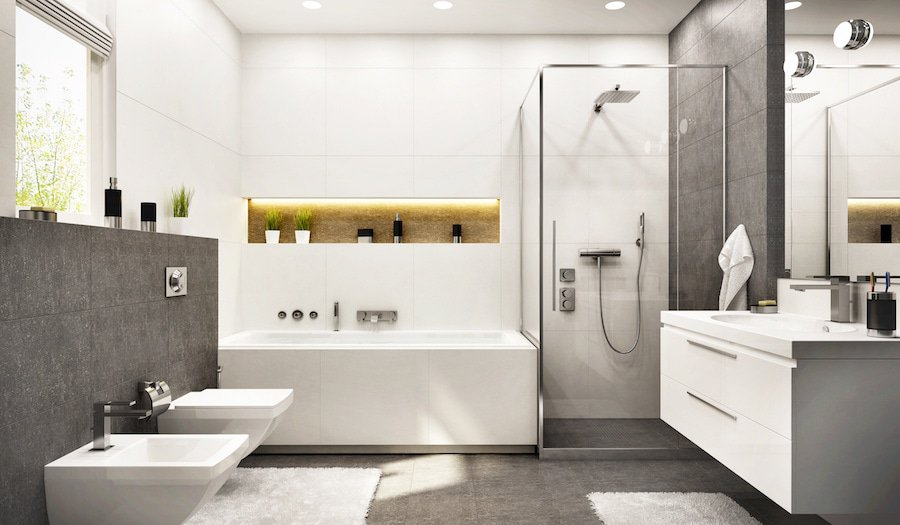 Light for bathrooms