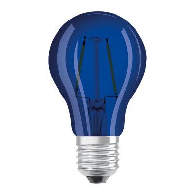 Osram LED STAR DECO Classic A Color E27 2.5W blue