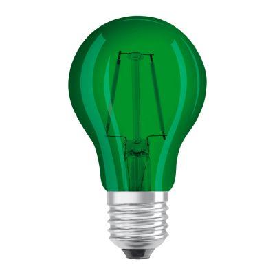 Osram LED STAR DECO Classic A Color E27 2.5W green