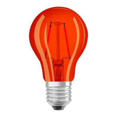 Osram LED STAR DECO Classic A Color E27 2.5W orange