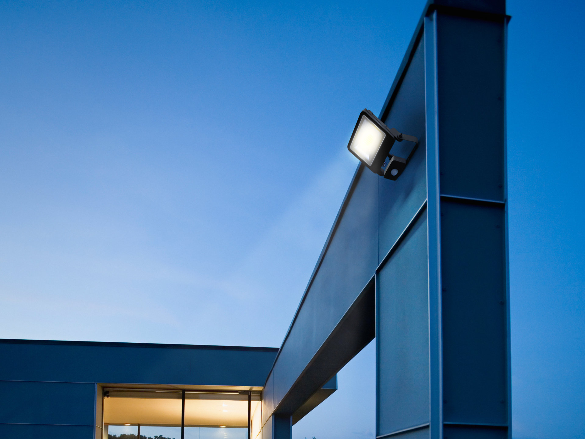 LED Floodlight business premises