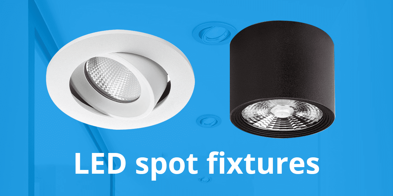 LED op- en inbouwspots