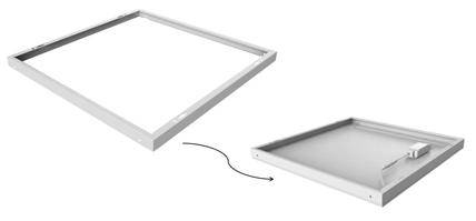 LED Panel surface mounted frame